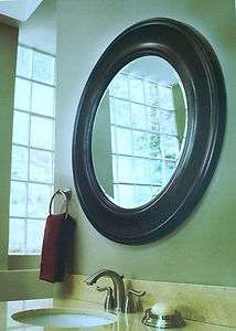 Framed Round/circle Wall mirror bath vanity Home decor