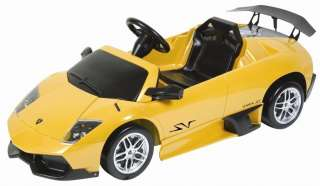 LAMBORGHINI MURCIELAGO LP 670 4 RIDE ON BATTERY OPERATED CAR DX 50216