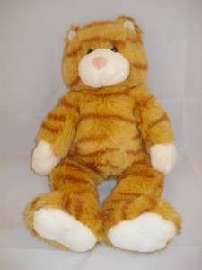 Build a Bear Workshop Orange Kitty Cat Plush 10p11 Stuffed Animal KAT