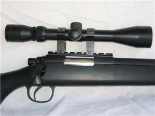 Bolt Action Airsoft Sniper Gun 9 X Magnify 500 FPS