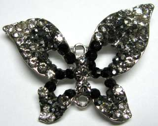 Sparkling Crystal Rhinestone Butterfly Brooch Pin #C390