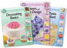 Wilton Cake Decorating LESSON BOOKS NEW SETof 3