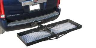 TRUCK RECEIVER HITCH MOUNTED CARGO CARRIER RACK TRAILER