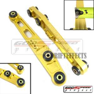 GOLD CIVIC CRX INTEGRA DC2 JDM LCA LOWER CONTROL ARMS