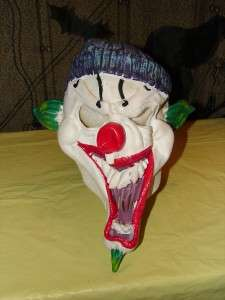EVIL CLOWN Creepy Scary Halloween Costume Mask RUBIES