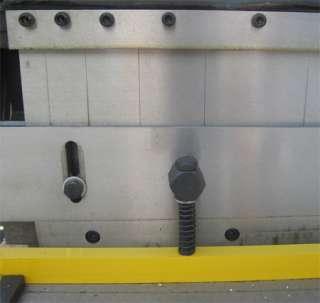 52 x 20 GAUGE Sheet Metal Shear Finger Pan Box Brake Bender Slip Roll