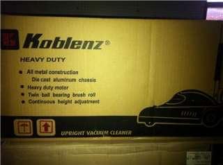 Koblenz U 110N Endurance All Metal commercial Vacuum Cleaner 100%