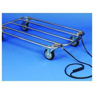 Precision Pet Products Chrome Kennel Kart Dogs