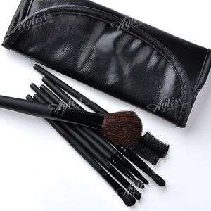 Pieces Makeup Easy Professional Cosmetic Brushes Set Tool & Black