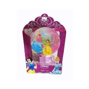 Light   Cinderella, Aurora, Belle with Carriage