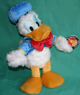 DISNEY DONALD DUCK 15 PLUSH TOY DOLL LARGE DONALD NEW