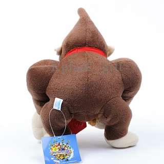 Super Mario Bros Soft Plush Toys DK Donkey Kong 10 with Banana