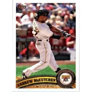 Card #60 Andrew McCutchen   Pittsburgh Pirates   MLB Trading Card