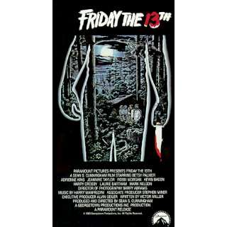 Friday the 13th 1 [VHS] Betsy Palmer, Adrienne King