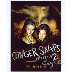 Emily Perkins Autograph   Ginger Snaps 2  Unleashed