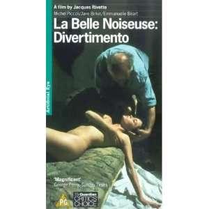 Divertimento [VHS] Michel Piccoli, Jane Birkin, Emmanuelle Béart