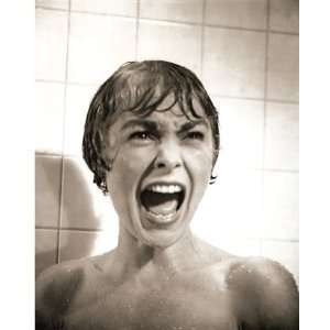 Janet Leigh Psycho Shower Scene B&W 16x20:  Sports