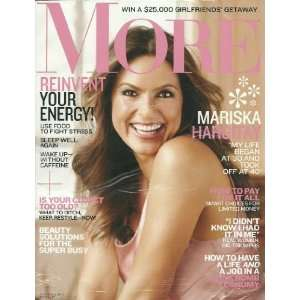 November 2011 Mariska Hargitay Editors of More Magazine Books