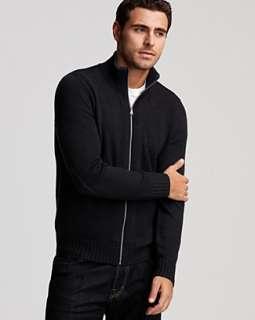 BOSS Black Thorrid Zip Sweater   Sweaters   Categories   Mens