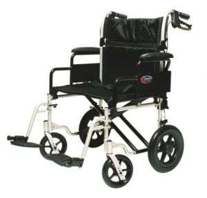 Everest & Jennings Bariatric Transport Chair Wheelchair