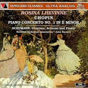 Robert Schumann, John Barnett, National Orchestral Association, Rosina