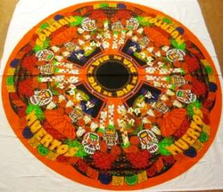 NEW* DAY of the DEAD ALTAR Dia de Muertos table cover