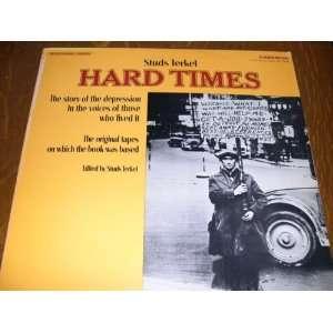 Studs Terkel, HARD TIMES, [Lp, Vinyl Record, CAEDMON, 2048