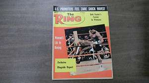 The Ring Wrestling Magazine Womens Lib In Boxing January 1975 1129R