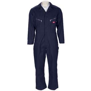 Dickies   Mens Long Sleeved Twill Coveralls Men