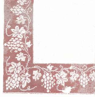 wide insertions sheet border stitches swallows tea tray towel borders