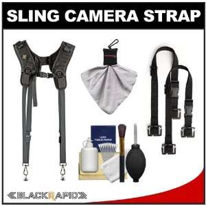 BlackRapid RS DR 1 Sling Double Camera Strap with (2