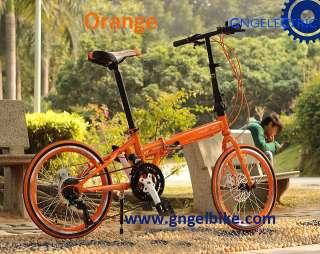 20 high quality folding bike road Bicycle shimano 21 speed (disc