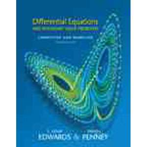 Differential Equations and Boundary Value Problems Computing and