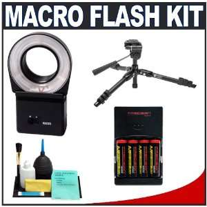 Cobra Macro Close up Ring Light Flash + Batteries