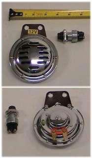 12VDC horn with switch for par car EZ GO Yamaha Club Car