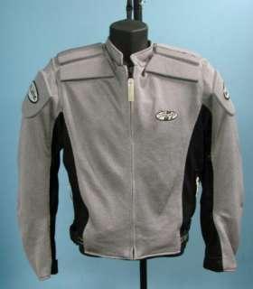 Joe Rocket Ballistic Motorcycle Jacket Coat Sz L Large Biker Biking