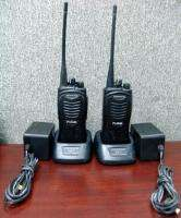 Pair of Kenwood TK 3200L Two way Radios with Batteries & Chargers (#1