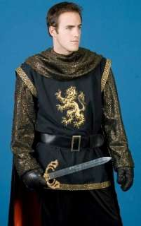 Deluxe Halloween Medieval Renaissance Knight Costume