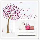 Blossom Flowers Tree Wall Stickers art Mural Children Wallpaper