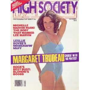 High Society Magazine: September 1979 (Volume 4, Number 4