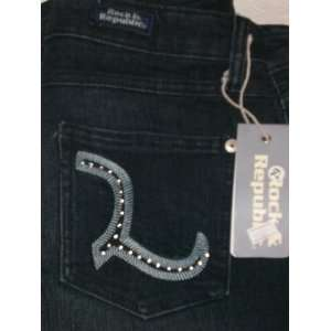 RARE & AUTHENTIC ROCK &REPUBLIC CRYSTAL ROTH JEANS 30