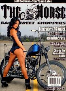 THE HORSE #116 MOTORCYCLE MAGAZINE BOBBER CHOPPER PIN UP BIKE TRIUMPH