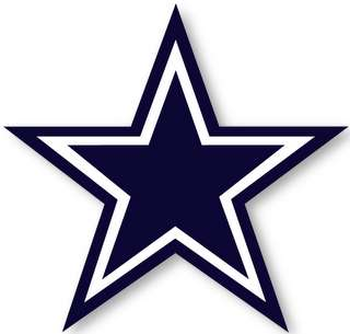 DALLAS COWBOYS   NFL Logo wall,window,sticker,decal