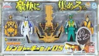 Power Rangers Samurai Sentai Shinkenger Megazord Gokaiger Gokai Ranger