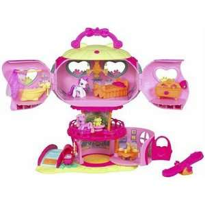 com My Lile Pony Ponyville Pinkie Pies Balloon House oys & Games