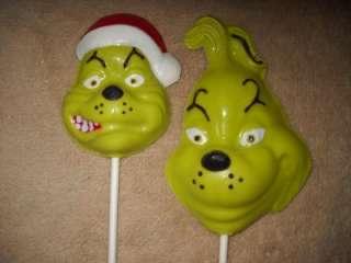 Dr Seuss Grinch Cat in the Hat Favor Favors Lollipop Lollipops