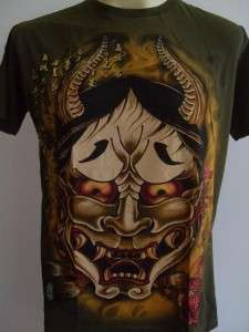 Emperor Eternity Oni Kabuki Japanese Mask Tattoo Army M