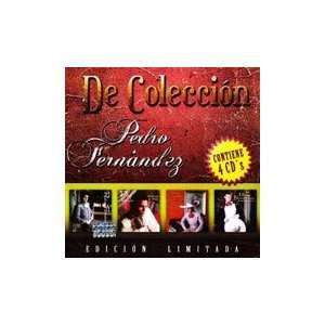 De Coleccion Vol.1 4CDs Pedro Fernandez Music