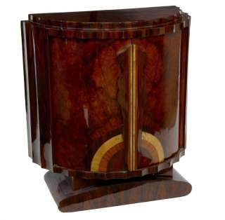 Art Deco Cabinet Crinkle Chest Cupboard Furniture