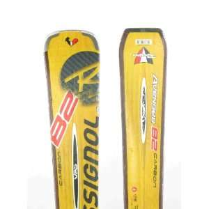 Used Rossignol Avenger 82 Carbon Snow Ski 177cm C Chips/nicks: